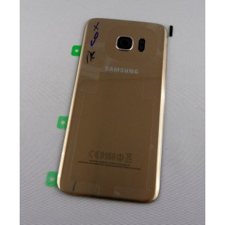 Samsung SM-G935F Galaxy S7 Edge - Backcover / Battery Cover gold